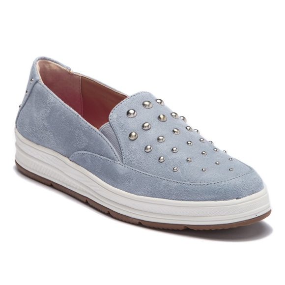 Adrienne Vittadini Shoes - New Adrienne Vittadini Goldie Stud Suede Sneakers